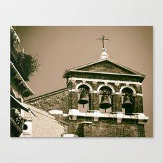 Church bells Canvas Print