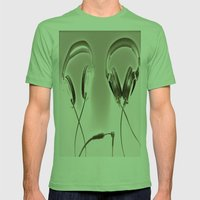 CONNECT Mens Fitted Tee Grass SMALL