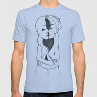 Kiss Mens Fitted Tee Athletic Blue SMALL