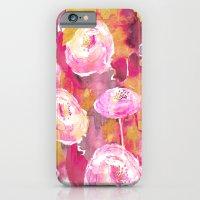 Painterly Flowers iPhone 6 Slim Case
