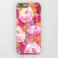 Painterly Flowers iPhone 6 Slim Case