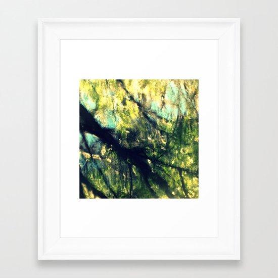 Dissolution Framed Art Print