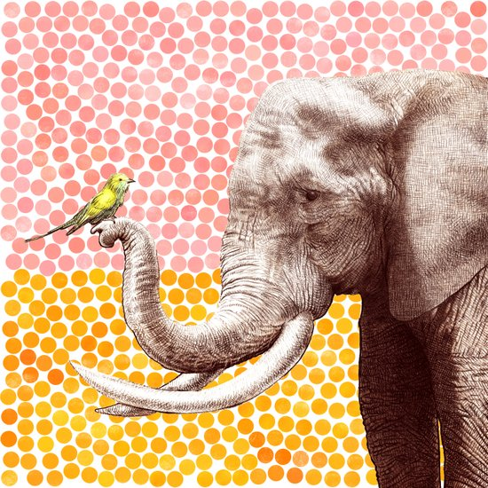 New Friends 2 by Eric Fan and Garima Dhawan Canvas Print