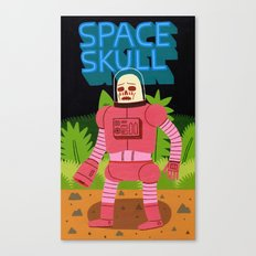 Space Skull Canvas Print