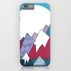 Blue Sky Mountains iPhone 6 Slim Case