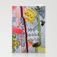 One, Two, Three Stationery Cards