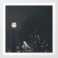 lighting the way ...  Art Print