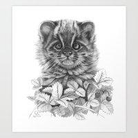 Asian Leopard Cat Cub G0… Art Print