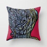 Windower Red Throw Pillow
