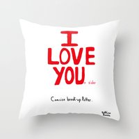 #104 Throw Pillow