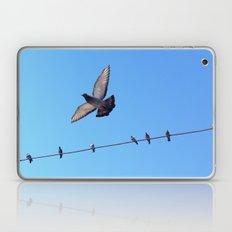 bird set free Laptop & iPad Skin