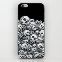 Skull Pattern iPhone & iPod Skin