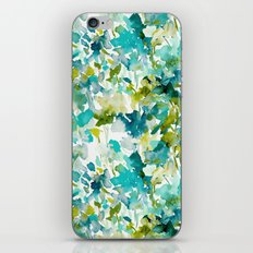 Local Color (Teal) iPhone & iPod Skin