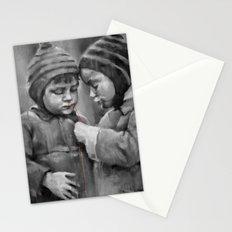 Silent Kids Stationery Cards