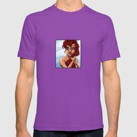 Ariel Mens Fitted Tee Ultraviolet SMALL