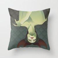 SLEEPING BANSHEE Throw Pillow
