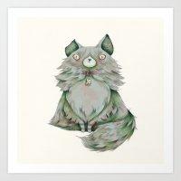 brume color Art Print