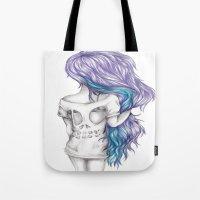 Skull Shirt Tote Bag