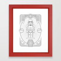 Stormtrooper Jam Framed Art Print