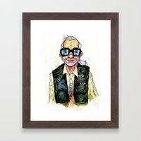 George A. Romero Framed Art Print