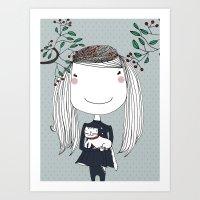 Happy Together Art Print