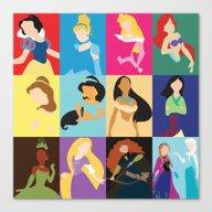 Princess 2014 Canvas Print