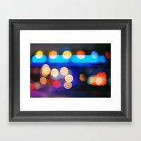 Night&light Framed Art Print