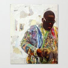 Biggie Canvas Print