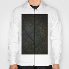 Abstract leaf Hoody