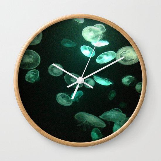 glow in the dark wall clock by ariadne jems society6