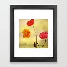 Jeune Fille Framed Art Print