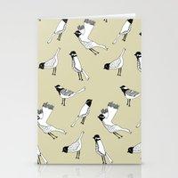 Bird Print - Natural Stationery Cards