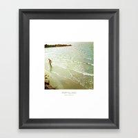 Fishing - Fripp Island S… Framed Art Print