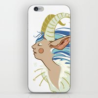 Goat Girl iPhone & iPod Skin