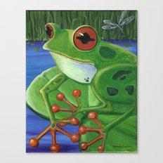 Frog Toes Canvas Print