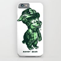 iPhone & iPod Case featuring The Money Bear by David King
