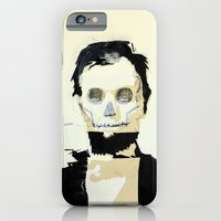 Abraham Lincoln (skull) iPhone 6 Slim Case