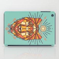 Geometric Wolf iPad Case
