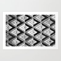 Tiling with pattern 2 Art Print
