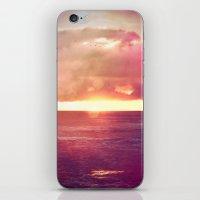 Ocean Sunset Bokeh iPhone & iPod Skin