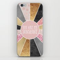 iPhone & iPod Skin featuring You Are My Sunshine by Elisabeth Fredriksso…