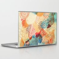 Laptop & iPad Skin featuring I Dream In Colors by Marcelo Romero
