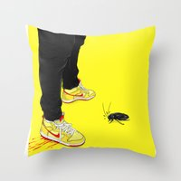 !!! Throw Pillow
