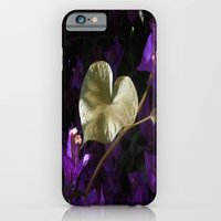 A Heart of Gold Leaf of Morning Glory iPhone 6 Slim Case
