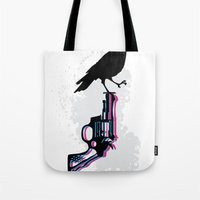 Death on Death Tote Bag