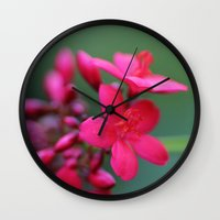 inBloom Wall Clock