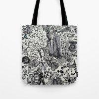 Black/White #2 Tote Bag