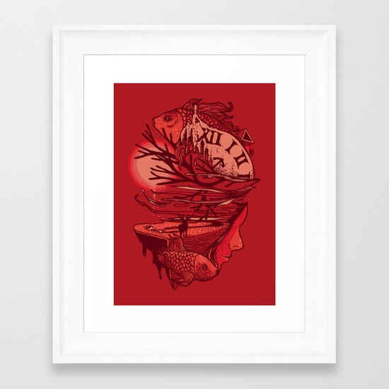 I Dreamt of Another Place Framed Art Print