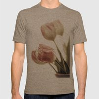 Vulnerable Beauty Mens Fitted Tee Tri-Coffee SMALL