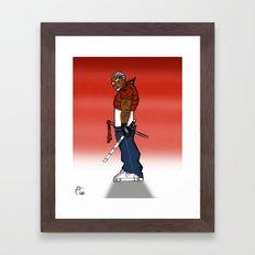 Street Samurai Series - Sh.O.G.un Framed Art Print
